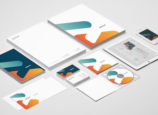 20个漂亮的信封和信纸设计欣赏