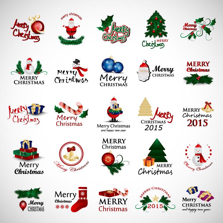 2015圣诞元素图标矢量素材(2)
