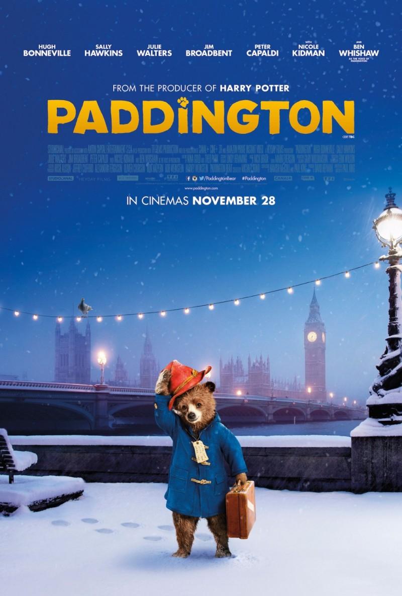国际资讯_电影海报设计欣赏:帕丁顿熊(Paddington) - 设计之家