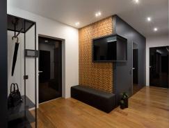 基辅Graphite顶层时尚公寓设计