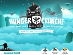 20个卡通角色背景的网页设计