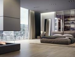 21個清新簡約的臥室設計欣賞