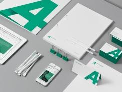 A4 training品牌形象VI设计