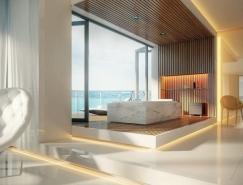 顶级奢华浴室设计欣赏