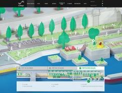 26个创意插画背景的网页设计欣赏