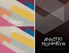 James Kirkup乐队演唱会创意海报设计