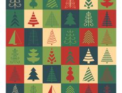 36款聖誕樹圖標矢量素材