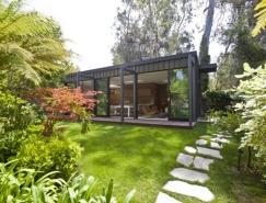 Santa Monica斯堪的纳维亚风格林中住宅设计