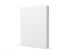 空白书模板PSD素材