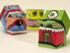 有趣的怪物糖果包装澳门金沙真人