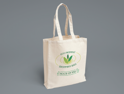 环保购物∴袋PSD素材