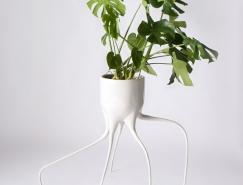 Tim de Weerd:长腿怪兽花盆设计