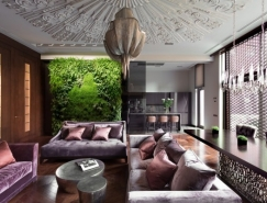 Art Deco装饰风格艺术的基辅现代住宅设计