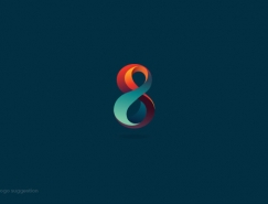 Maria Gronlund精致絢麗的彩色logo設計