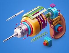 Zhivko Terziivanov创意3D艺术作品