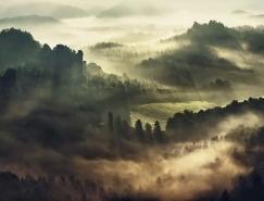Kilian Schönberger大氣迷人的晨霧風光攝影