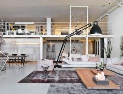 三个时尚艺术家的创意Loft住宅设计