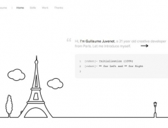 25个漂亮的极简网页设计