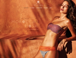 美容和潮流时尚业网站设计欣赏