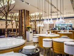 倫敦Ethos餐廳室內空間設計
