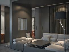 客厅和卧室和谐相处:舒适的一居室小公寓365bet