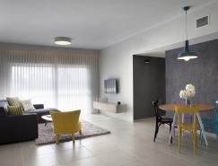 以色列Kfar Saba高度极简风格公寓
