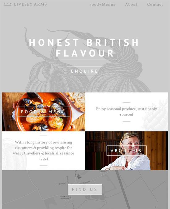 漂亮的字体和排版:25个国外网站设计欣赏图片