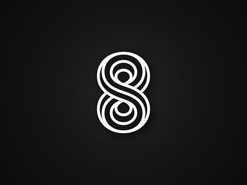 2015标志设计新趋势 重叠风格logo设计