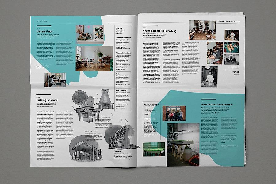companion杂志版式设计欣赏