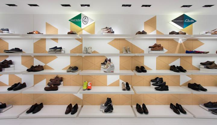 澳门Osaka Shoes大阪鞋店店面设计