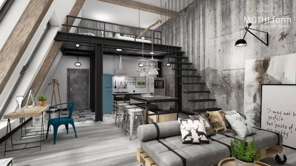 7个创意loft空间设计欣赏(2)图片