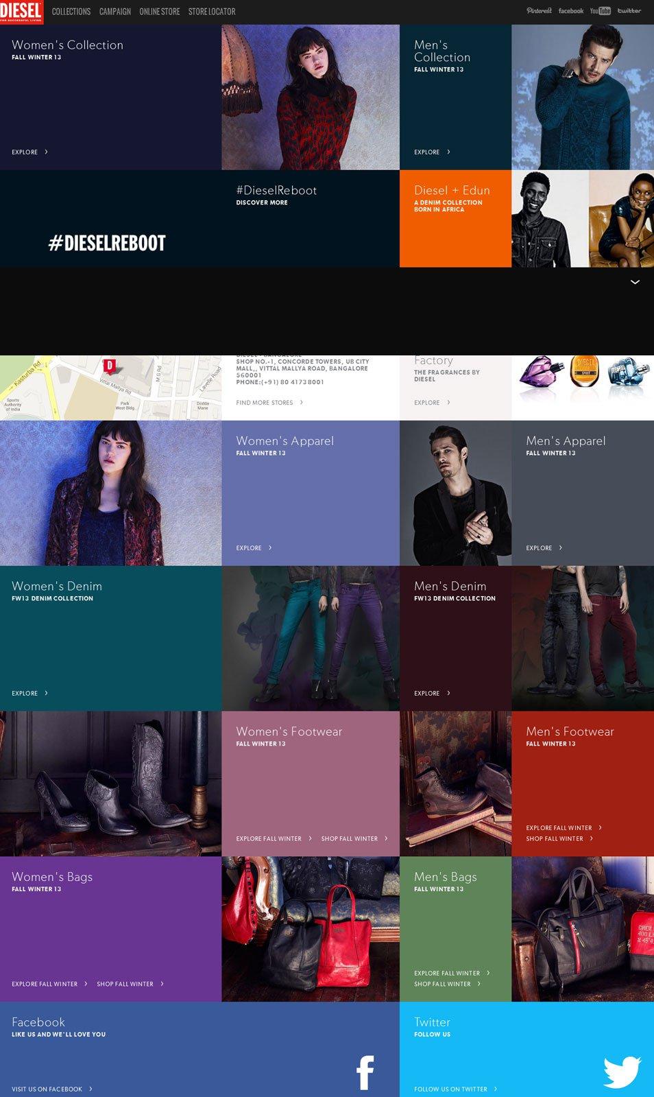36个时尚品牌网站设计欣赏(3)