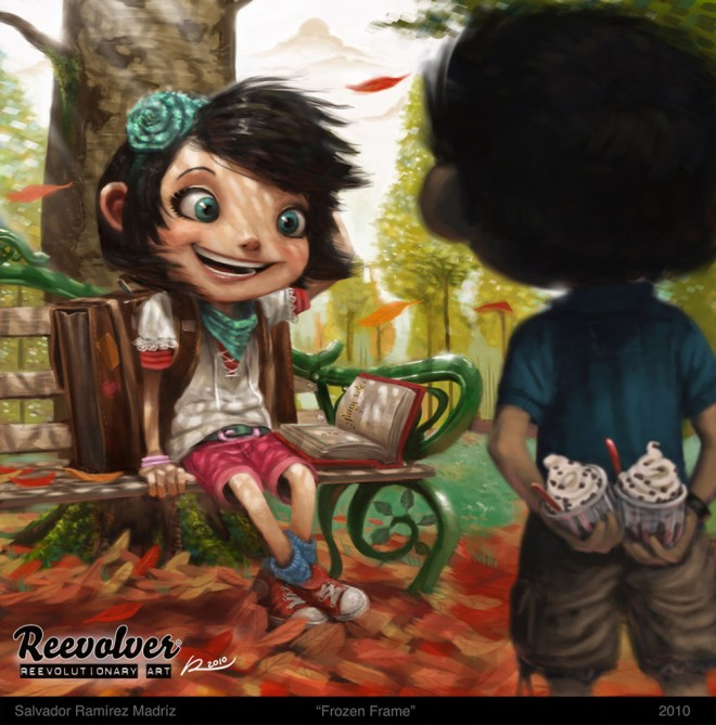 Salvador Ramirez Madriz漂亮的卡通角色设计欣赏