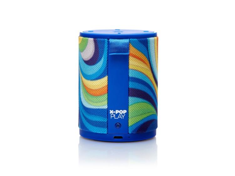 精美彩绘的X-Pop蓝牙音箱设计