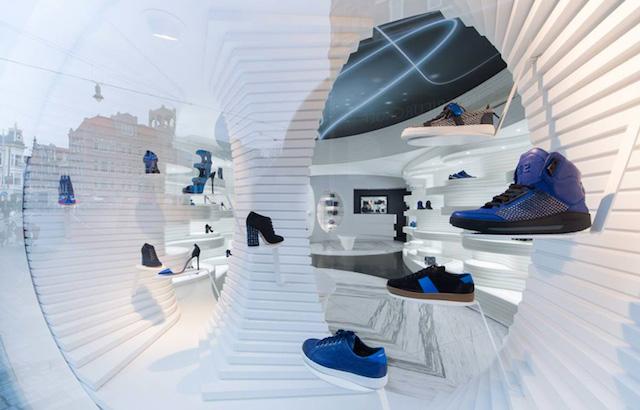 阿姆斯特丹Shoebaloo鞋店设计
