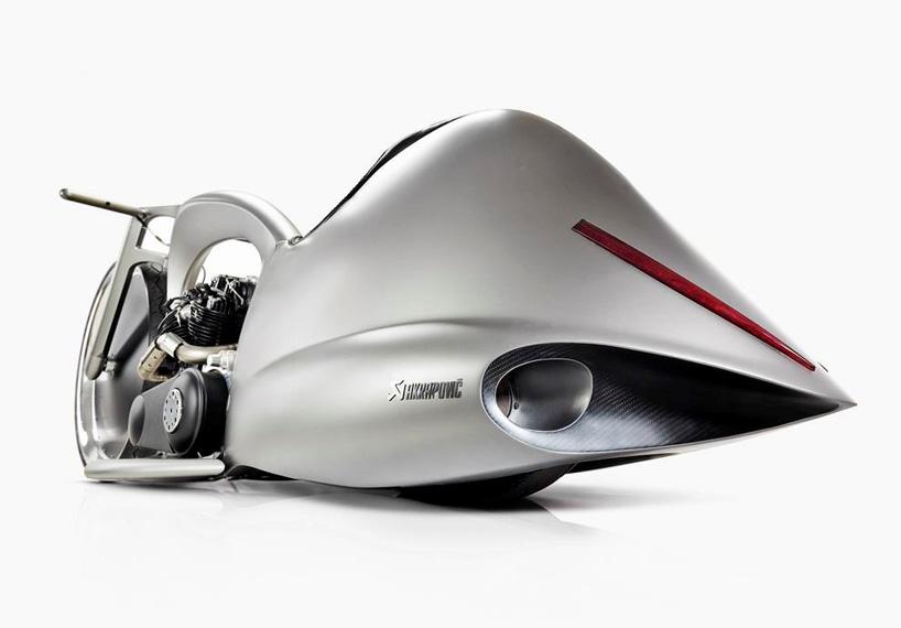 """Akrapovic天蝎:""""满月""""概念摩托车设计"""