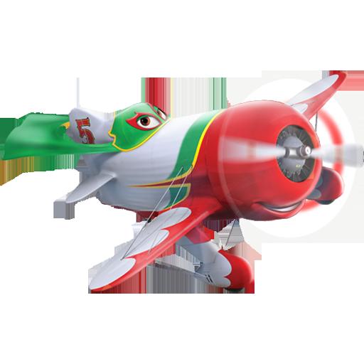本地资讯_飞机总动员卡通角色PNG图标素材 - 设计之家