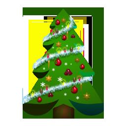 8款圣诞图标png素材 设计之家