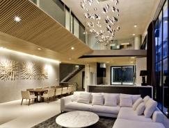 胡志明市现代优雅的别墅设计欣赏