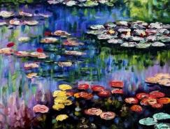 法国印象派画家莫奈(Oscar Claude Monet)作品欣赏