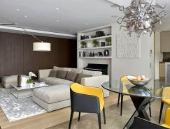 莫斯科165平方米现代公寓皇冠新2网欣赏
