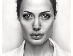 25张漂亮逼真的名人肖像铅笔画欣赏