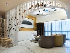 澳门文华东方酒店38-39层复式豪华公寓设计