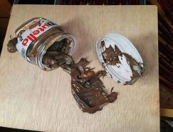 ivan hoo超逼真的木板3D绘画作品欣赏