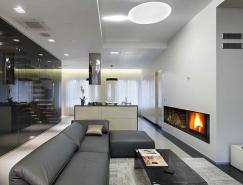 圣彼得堡NNS三层公寓设计