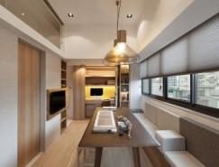 台湾26平米极简小公寓设计