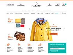 俄罗斯PichShop时尚购物网站设
