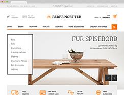 Bedrenaetter室内家居用品网站设计