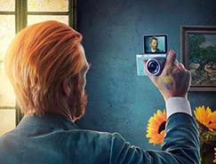自拍達人: 三星NX mini相機廣告
