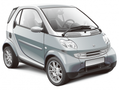 Smart汽车矢量素材